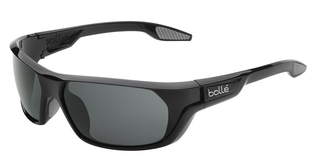 Bollé Sonnenbrille Ecrins, Shiny Black, One size, 11665