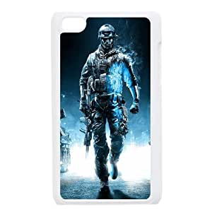 iPod Touch 4 Case White Battlefield 3 Action Game Dybck