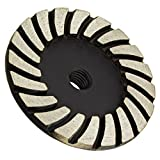 Turbo Diamond Grinding Wheel for Stone Grinding. Coarse Grit (4 in. Fine Grit)