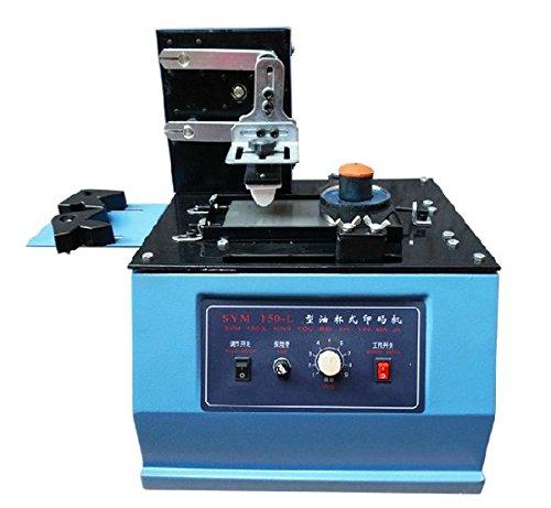 SYM-150 Ink Printing Machine Automatic Production Date Coder Desktop Electric Pad Printer Move Ink Printing Machine