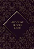 Account Ledger Book: Notebook for Accounting - The easiest way to manage Income and Expenditure - Bookkeeping Ledger Cash Book