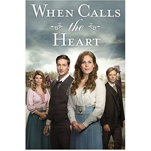 Erin Krakow 8 Inch x 10 Inch photograph When Calls the Heart (TV Series 2014 -) Hands Together at Waist w/Cast Title Poster kn ()