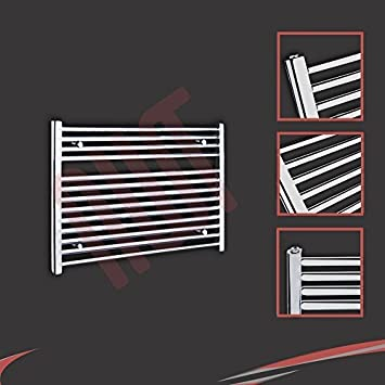 900mm (w) x 600mm (h) - Radiateur sèche-serviettes plat ...