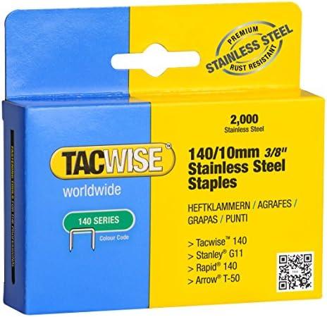 TACWISE Heftklammern 140//8 mm verzinkt 2.000 Stück
