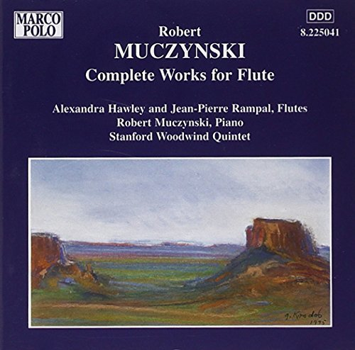 Muczynski: Complete Works for Flute by Stanford Woodwind Quintet (2006-08-01)