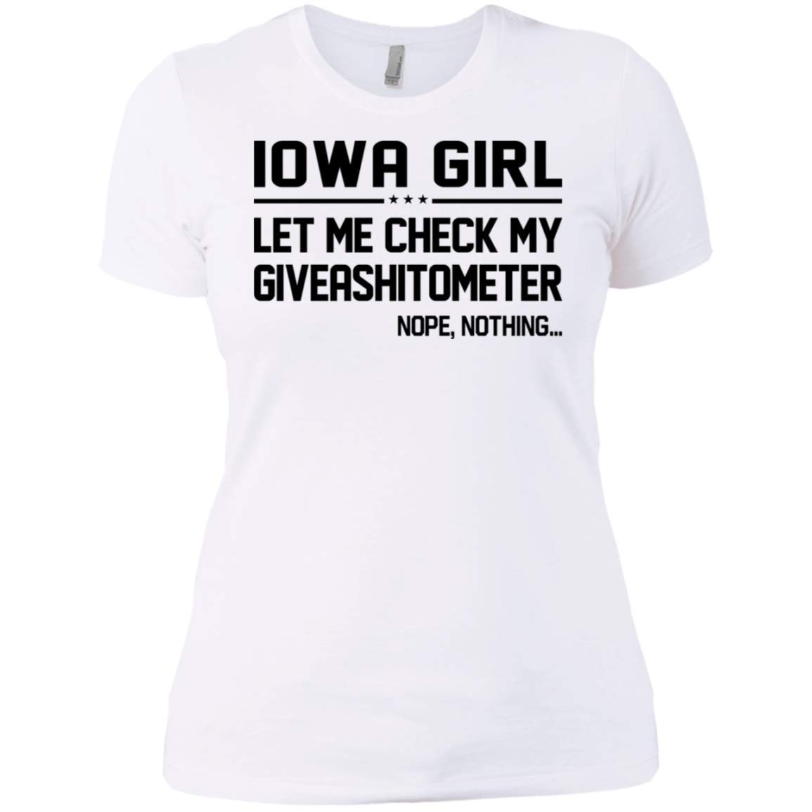 Lotacy Iowa Girl LET ME Check My GIVEASHITOMETER