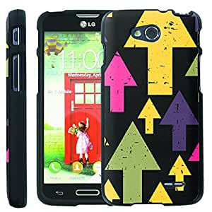 [ManiaGear] Design Graphic Image Shell Cover Hard Case (Going Up) for LG Optimus L90