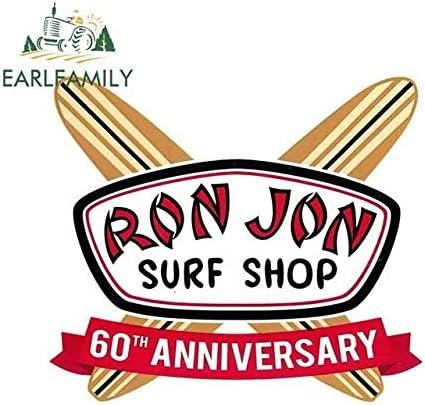 13cm x 11.5cm para Ron Jon Surf Shop 60th Anniversary Vinyl ...