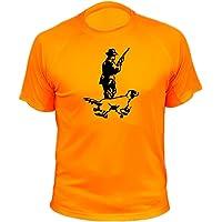 Camiseta de Caza, Cazador y Perro, Regalos