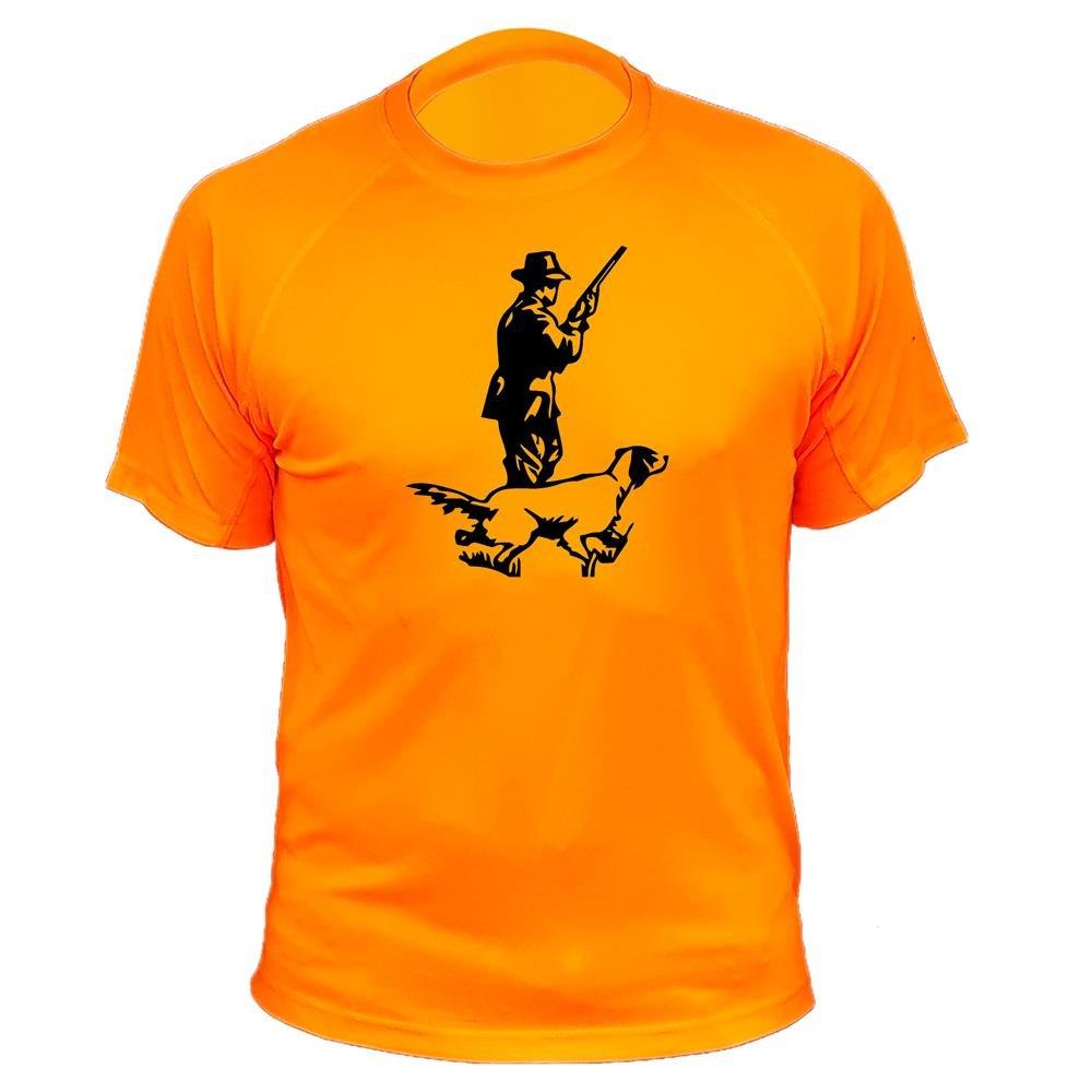 Camiseta de Caza, Cazador y Perro, Regalos para Cazadores AtooDog