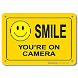 Smile You're On Camera Sign - Video Surveillance Security - 10