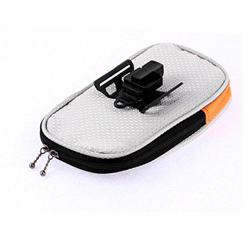 sourcingmap® Fahrrad Vorderseite Rahmen Tasche Lenkertasche Case Handy Halterung
