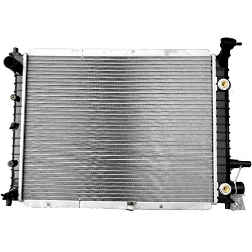 Scitoo New 2140 Aluminum 1 Row Radiator for Ford Escort (Ford Escort Engine)