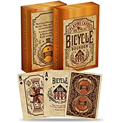 Bicycle Bourbon Poker Size Standard Index Playing Cards
