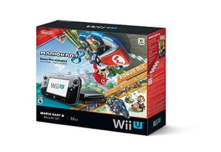 Nintendo Wii U 32GB Mario Kart 8 (Pre-Installed) Deluxe Set