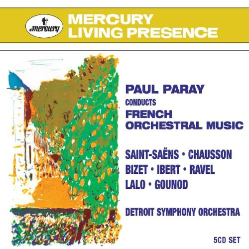 French Orchestral Music by Philips