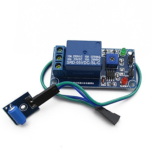 Cloud Sensor The Normally Closed Type Vibration Sensor Module And Relay Module In Vibration Alarm Trigger Module DIY Electronic Blocks