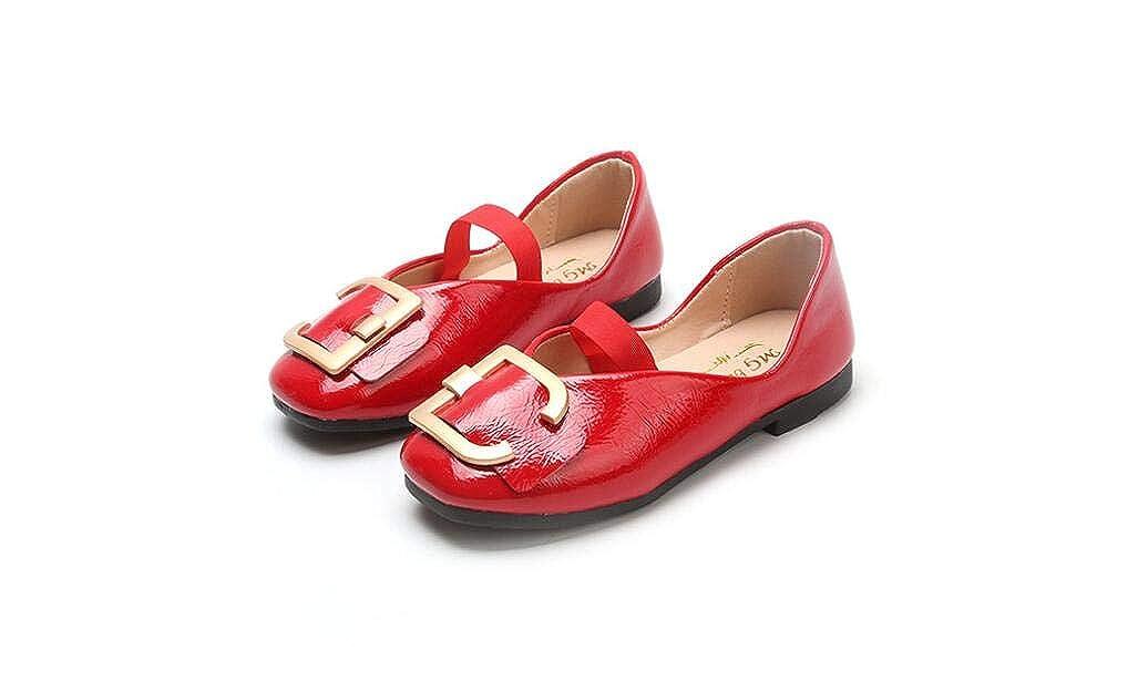 IINFINE Girls Bowtie Hook/&Loop Dressy Mary Jane Flats