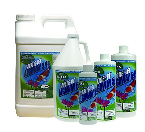 Microbe-Lift Algaway 5.4 Pond Algae Control 2.5 Gallon ()