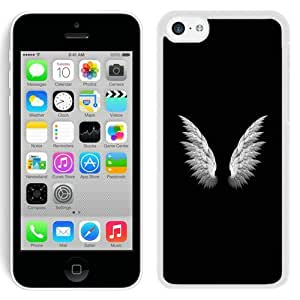 Hot Sale And Popular iPhone 5C Case Designed With Angel Wings Simple White iPhone 5C Phone Case
