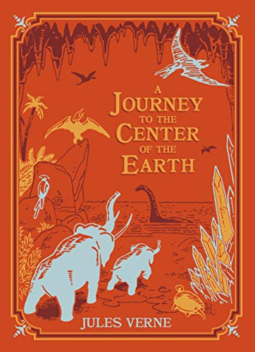 A Journey to the Center of the Earth (Barnes & Noble Children's Leatherbound Classics) (Travel To The Center Of The Earth)