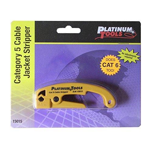 Platinum Tools 15015 Cat 5 Cable Jacket Stripper