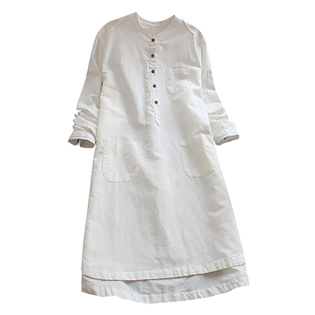 Shybuy Women Dress PANTS レディース Medium ホワイト B07G46XXHV