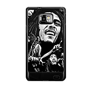 Generic Creative Phone Case For Kids Printing With Bob Marley For Samsung Galaxy S2 I9100 Choose Design 2