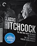 39 steps hitchcock - Classic Hitchcock: The Man Who Knew Too Much / The 39 Steps / The Lady Vanishes / Foreign Correspondent: The Criterion Collection [Blu-ray]