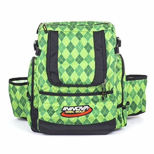 Innova HeroPack Disc Golf Backpack Bag (Green Argyle)