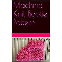 Machine Knit Bootie Pattern