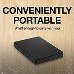 Seagate Portable 1TB External Hard Drive HDD 5