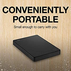 Seagate Portable 2TB External Hard Drive Portable HDD – USB 3.0 for PC Laptop and Mac (STGX2000400)