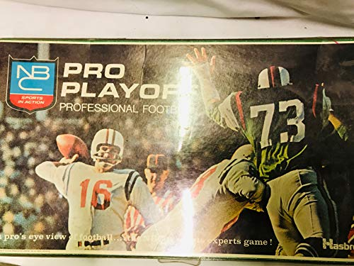 Pro Playoff Professional Football Hasbro Game 1969