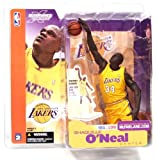 lakers figure - McFarlane Toys NBA Sports Picks Series 2 Shaquille O'Neal (Los Angeles Lakers) Yellow Jersey Action Figure