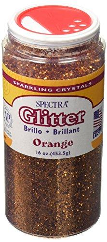Price comparison product image Spectra Glitter,  1 Pound,  Orange