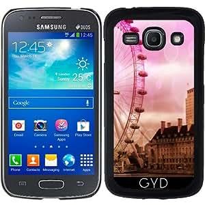 Funda para Samsung Galaxy ACE 3 S7272/A7275 - Londres Efecto De Color Rosa by More colors in life
