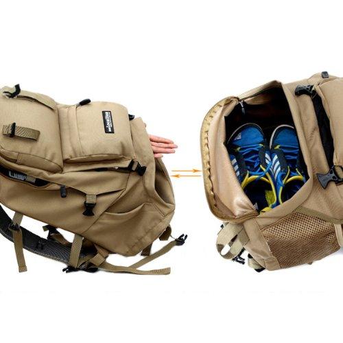 SHEENROAD 40L Waterproof Backpack Bag Camping Hiking Mountaineer ...