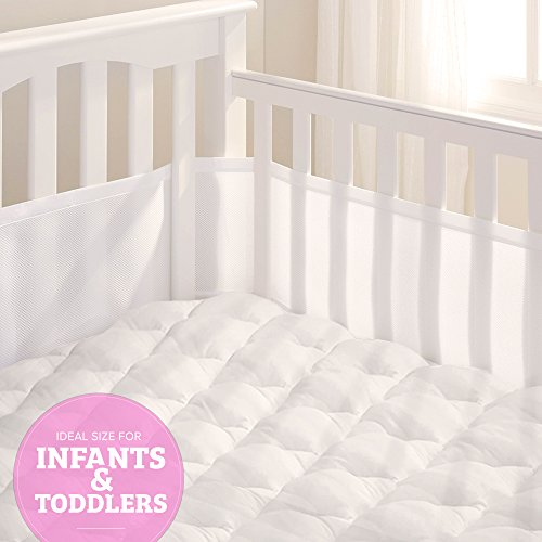 Toddler / Crib Size Mattress Pad - Perfect for Small Child / Infant - Cooling Pad