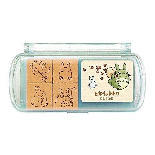 Ghibli My Neighbor Totoro mini stamp set 7 From Japan New (Costume Store Near My Location)