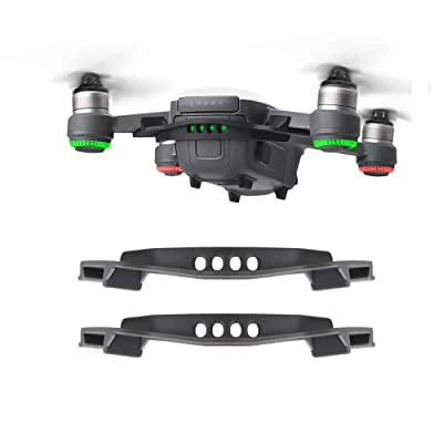 BonFook 2 Packs Battery Strap Non Slip Anti Drop Stripping Fixator Lock Securing Tie Compatible with DJI Spark: Toys & Games