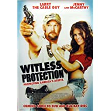 """Witless Protection Poster 27"""" x 40"""" (approx.)"""