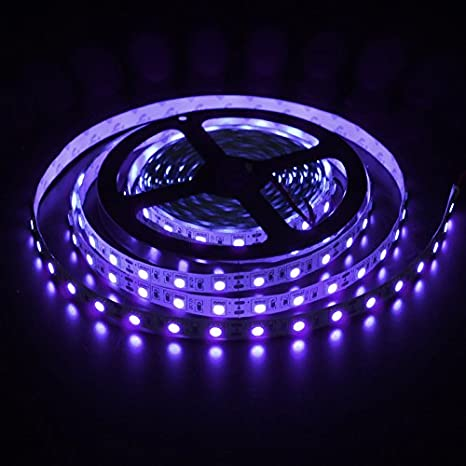 Waterproof Blue 5M 300 Leds 60leds//M 5050 SMD LED Flexible Strip Light 12V 60W