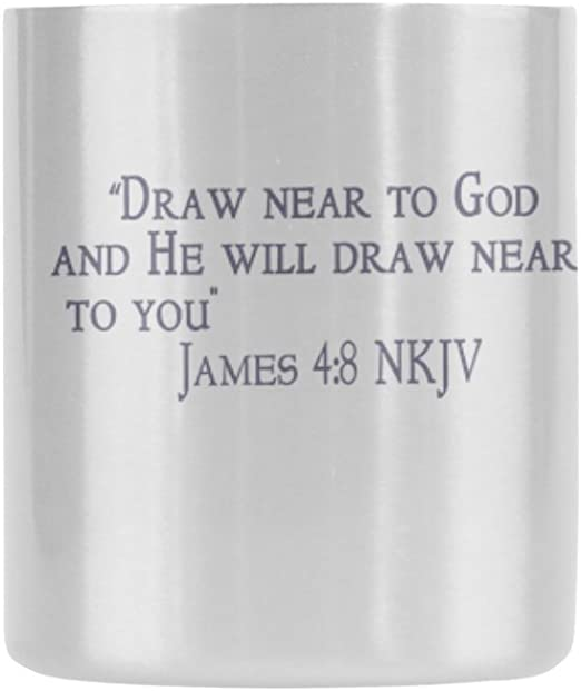 com novelty gifts bible quote draw near to god and he will