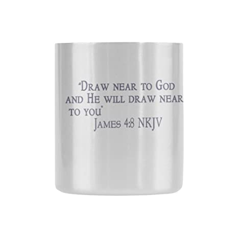 Amazon Com Novelty Gifts Bible Quote Draw Near To God And He Will