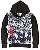 Hip Hop 3D Printed Emoji Jordan Thin Hoodies for Men Pullover,Large,Basketball