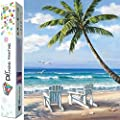 Dylan S Cabin Diy 5d Diamond Painting Kits For Adults Full Drill Embroidery Paint With Diamond For Home Wall Decor Beach 12x16inch