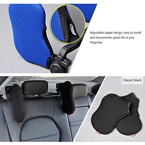 Inflatable Dent Remover Kit - Yeefant Retractable Rotated Neck Support Nylon Pillow Seat Headrest High Elastic Car for Long Trips