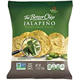 The Better Chip Whole Grain Chips, Jalapeno, 1.5 Ounce, (Pack of 27)