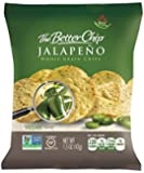 The Better Chip Whole Grain Chips, Jalapeno, 1.5 Ounce ( 27 Pack )